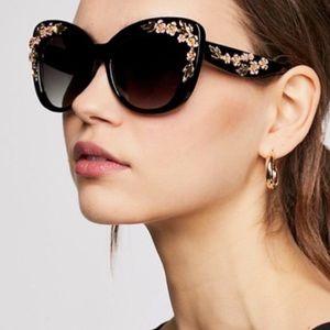 Boutique- Floral Sunglasses